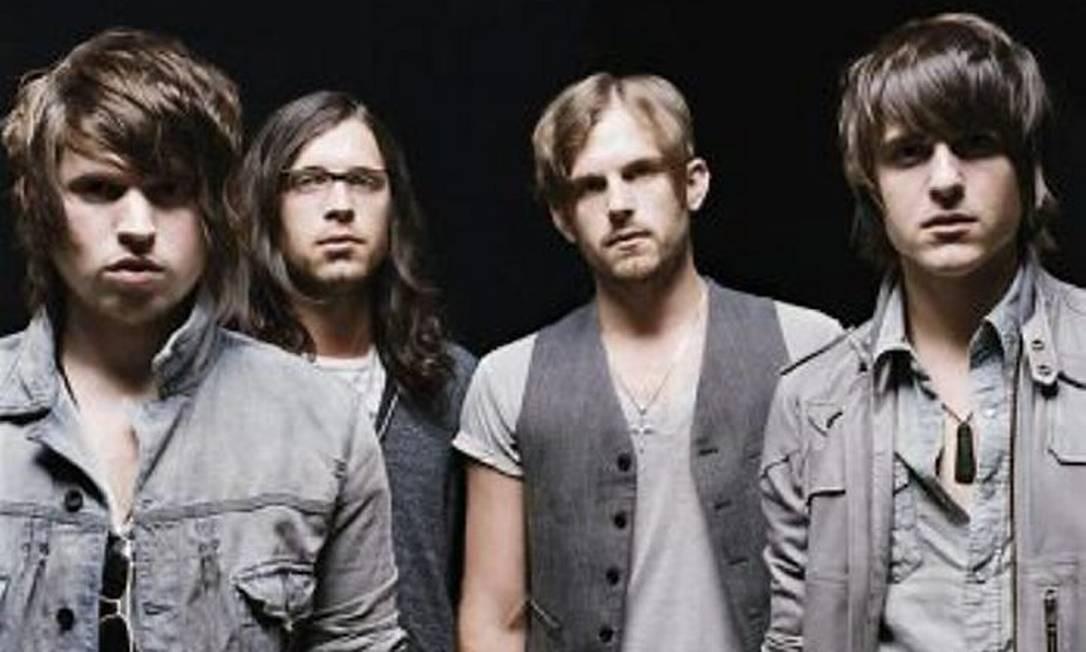 O grupo Kings of Leon