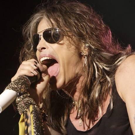 Steven Tyler: 'boca grande' do cantor deixou o guitarrista Joe Perry furioso Foto Divulgação