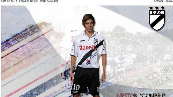 Nestor Coratella, o jogador criado por internautas - Foto: Reprodução internet