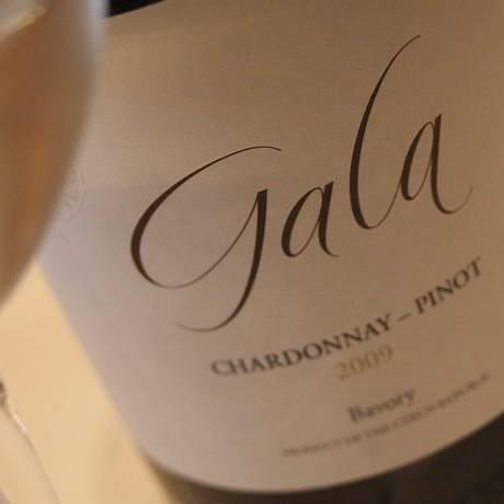 O chardonnay Gala, produzido na República Tcheca Foto: Bruno Agostini