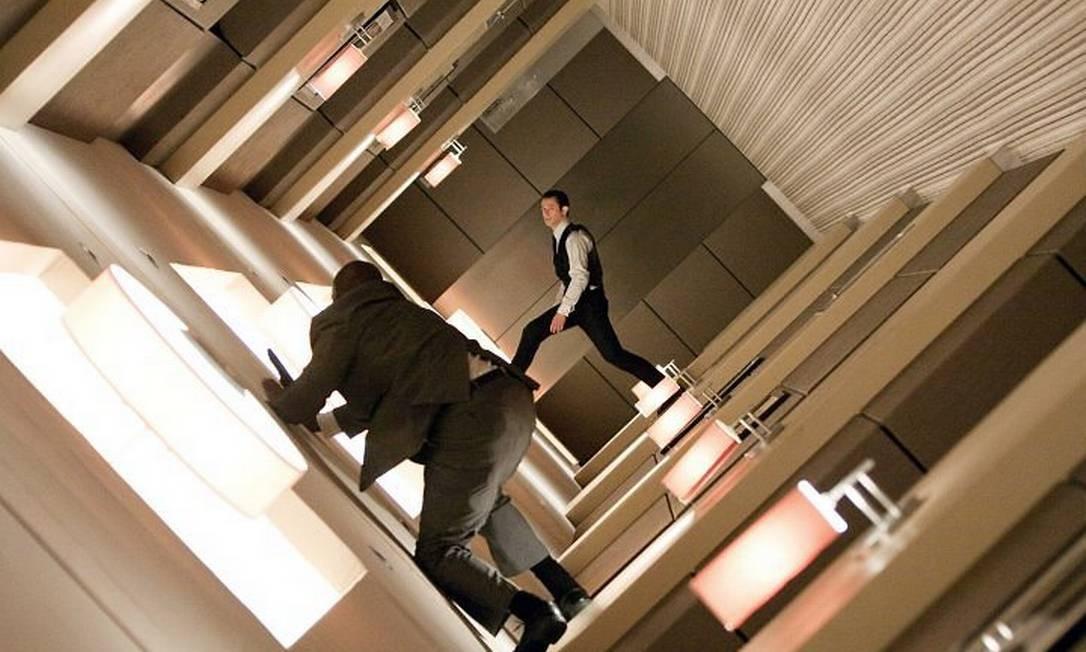 Cena de 'A origem', de Christopher Nolan Divulgação