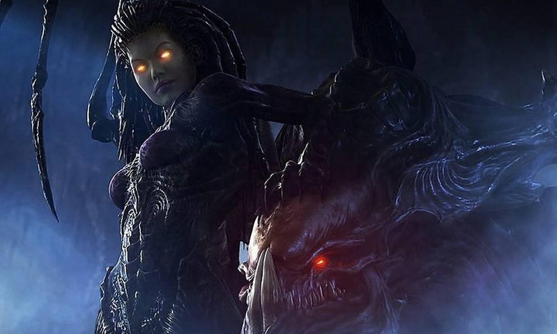 Sarah Kerrigan, a Rainha das Lâminas de 'StarCraft II', agora fala nossa língua Crédito: Divulgação