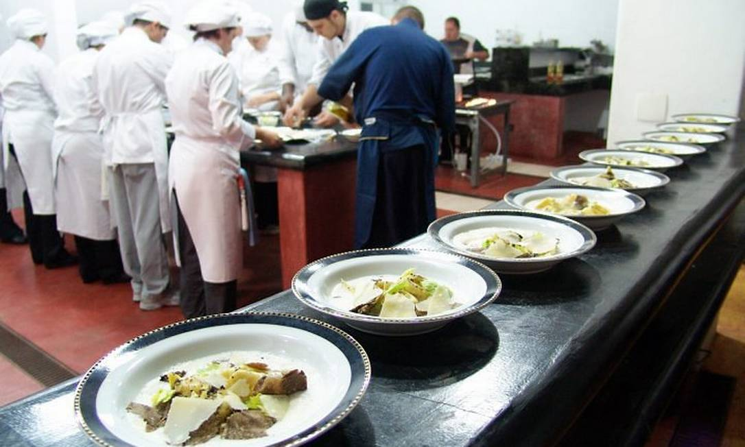 Pratos preparados durante a edição de 2009 do Festival de Cultura e Gastronomia de Tiradentes Foto: Divulgação