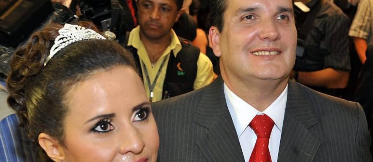 Noiva casou no hemocentro do DF e pediu doações de sangue como presente - Foto Agência Brasil