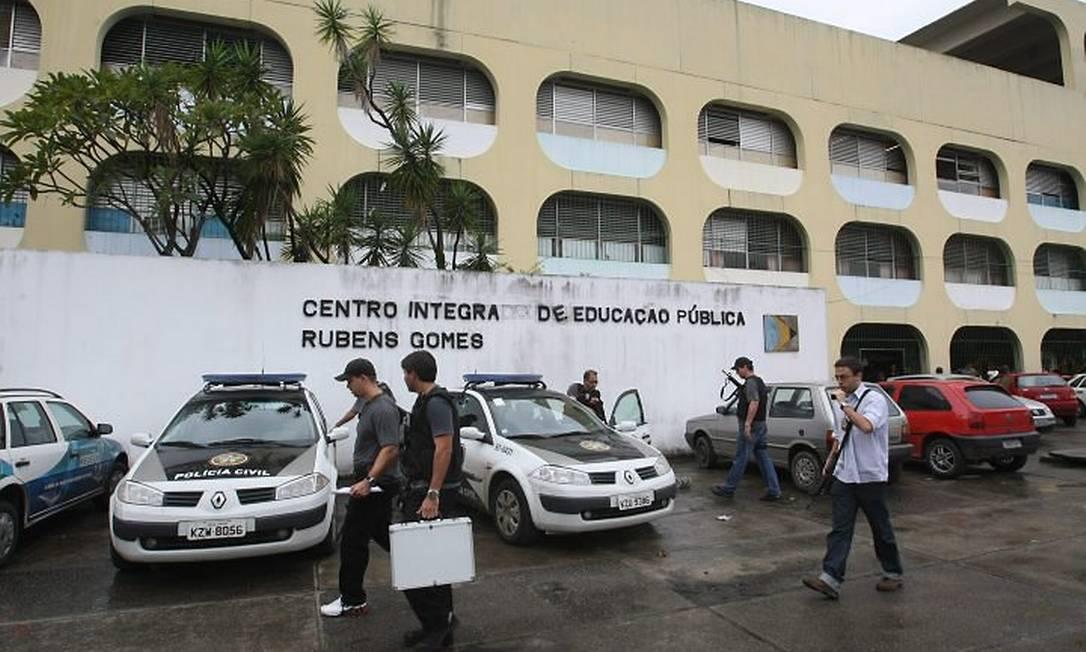 Ciep Rubens Gomes. Foto de Guilherme Pinto