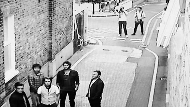 O Take That reunido com Robbie Williams Reprodução