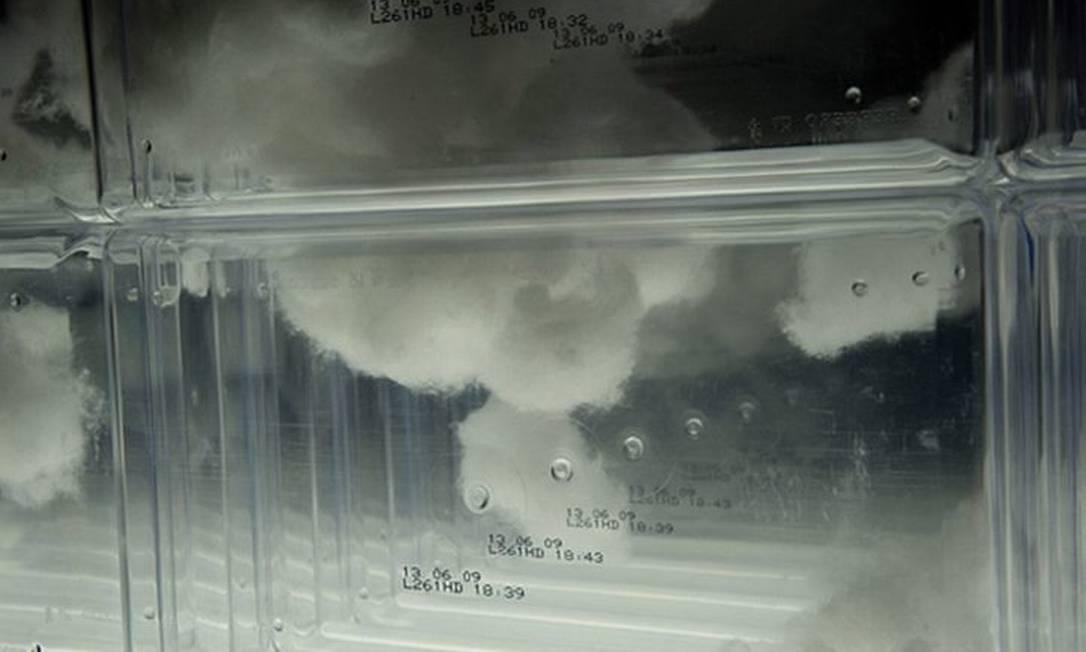Detalhe de 'Estudo para espaço', obra de Marcelo Moscheta, finalista do Prêmio Pipa Foto Divulgação