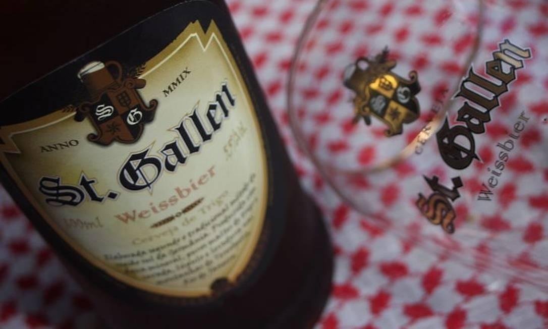 St. Gallen: marca teresopolitana vai abrir a fábrica aos visitantes, que poderão até fabricar sua cerveja Foto: Bruno Agostini