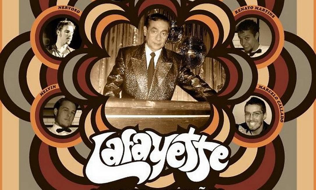 Capa do disco da banda Lafayette e os Tremendões Divulgação