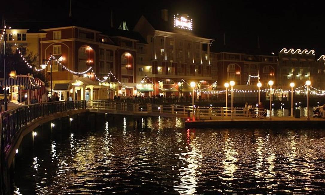 Disney Boardwalk: área de entretenimento noturno com bons bares e novos restaurantes Foto: Bruno Agostini