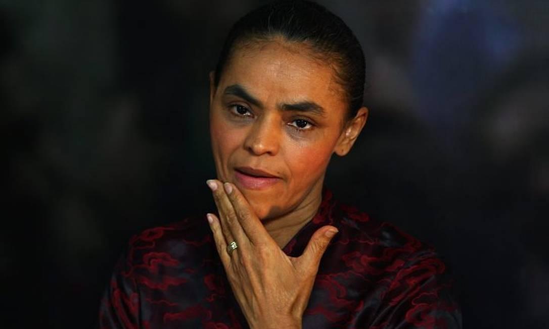 Marina Silva, pré-candidata do PV à Presidência. Foto de Michel Filho