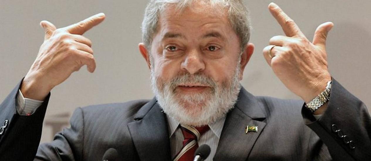 Luiz Inácio Lula da Silva, presidente do Brasil. Foto: Arquivo O Globo
