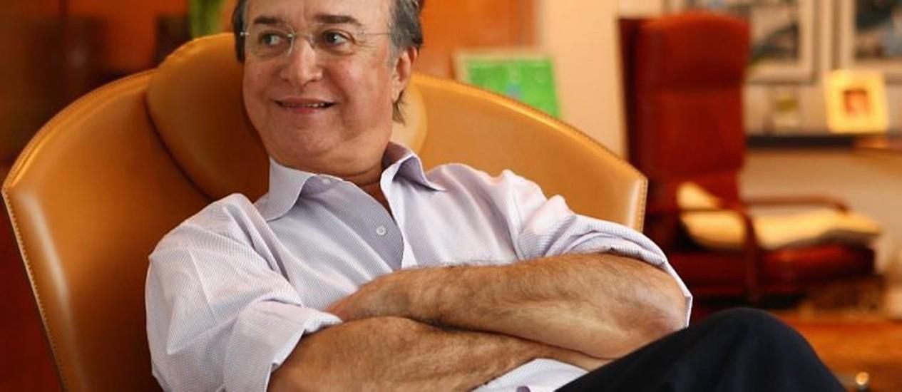 J. Hawilla, jornalista e empresário Crédito: Michel Filho