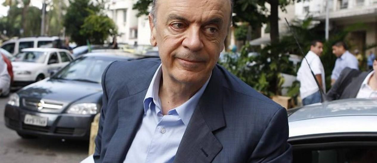 José Serra visita a rádio Globo, no dia 25052010 Domingos Peixoto