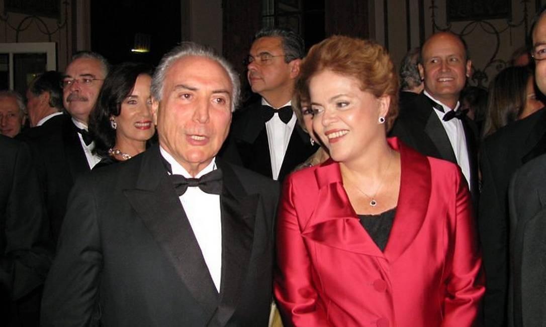 Dilma Rousseff e Michel Temer em Nova York. Foto: Cristina Indio do Brasil