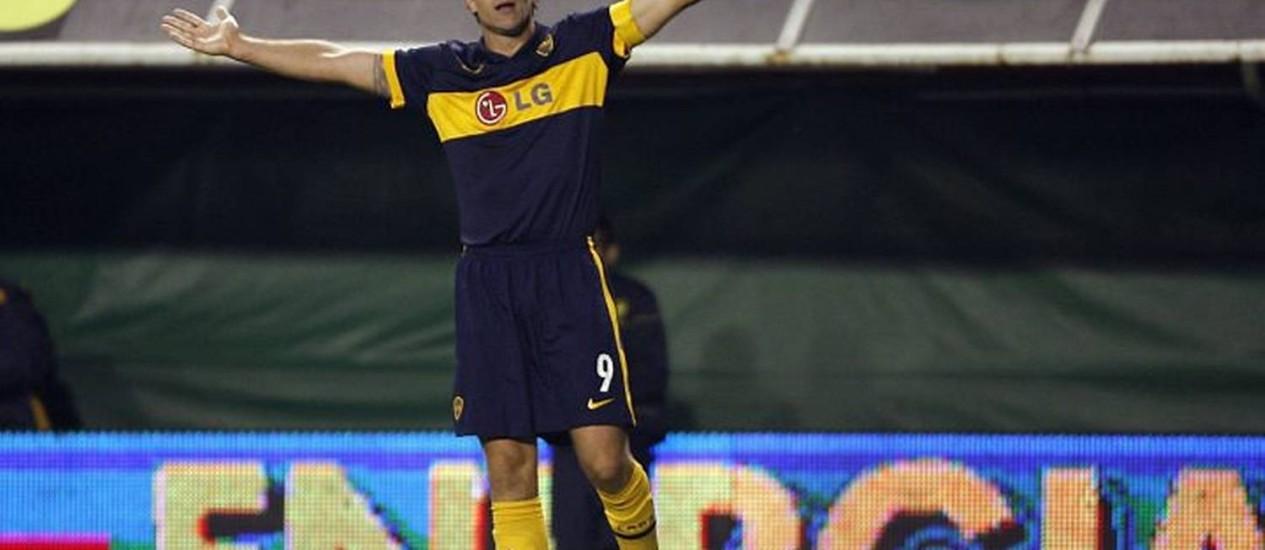 Palermo está na lista final dos 23 convocados - Reuters