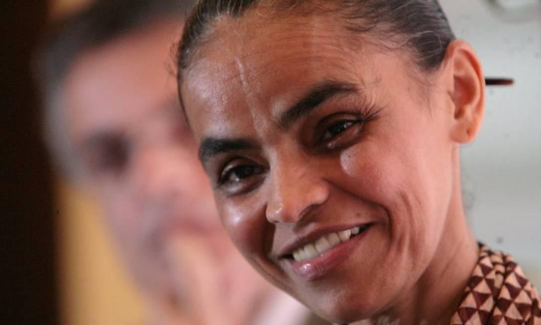 Marina Silva durante evento em São Paulo - Foto de Marcos Alves