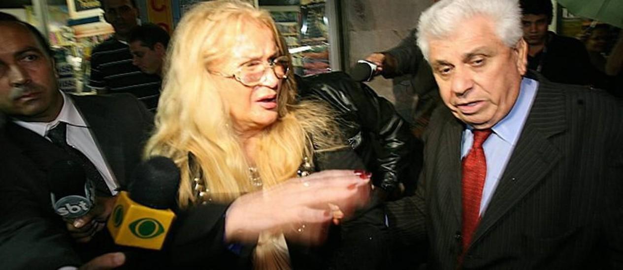 Procuradora sai da delegacia após prestar depoimento. Foto: Berg Silva
