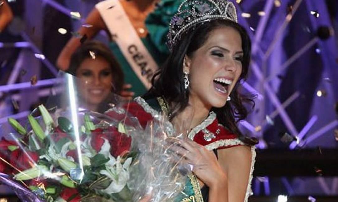 Miss Brasil 2010 Débora Lyra, de MG - Divulgação