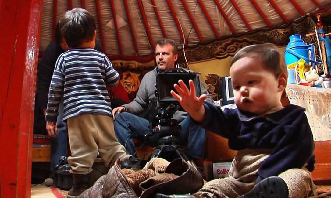 Ponijao, o bebê da Namíbia, personagem do documentário 'Babies' AP