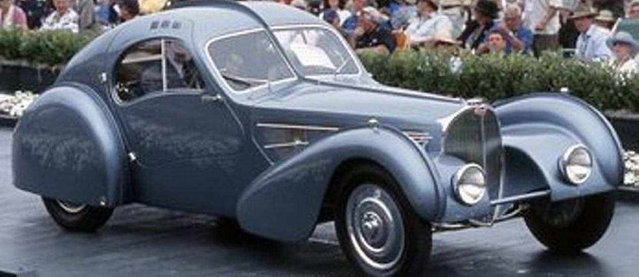Bugatti Atlantic 1936 é o carro mais caro do mundo, vendido por US$ 40 milhões. Crédito: Reprodução