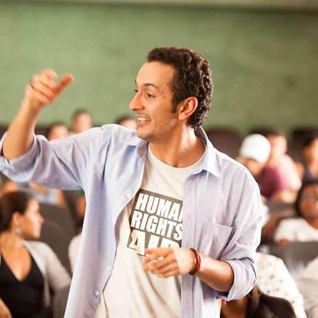 O ator Irandhir Santos no filme 'Tropa de elite 2'. Foto Divulgação