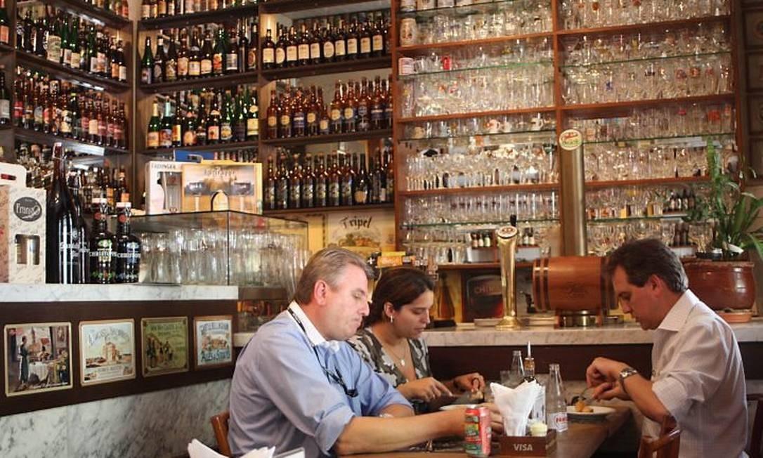 Frangó: uma impressionante seleção de cervejas que fazem valer a ida até a distante Freguesia do Ó Foto: Bruno Agostini