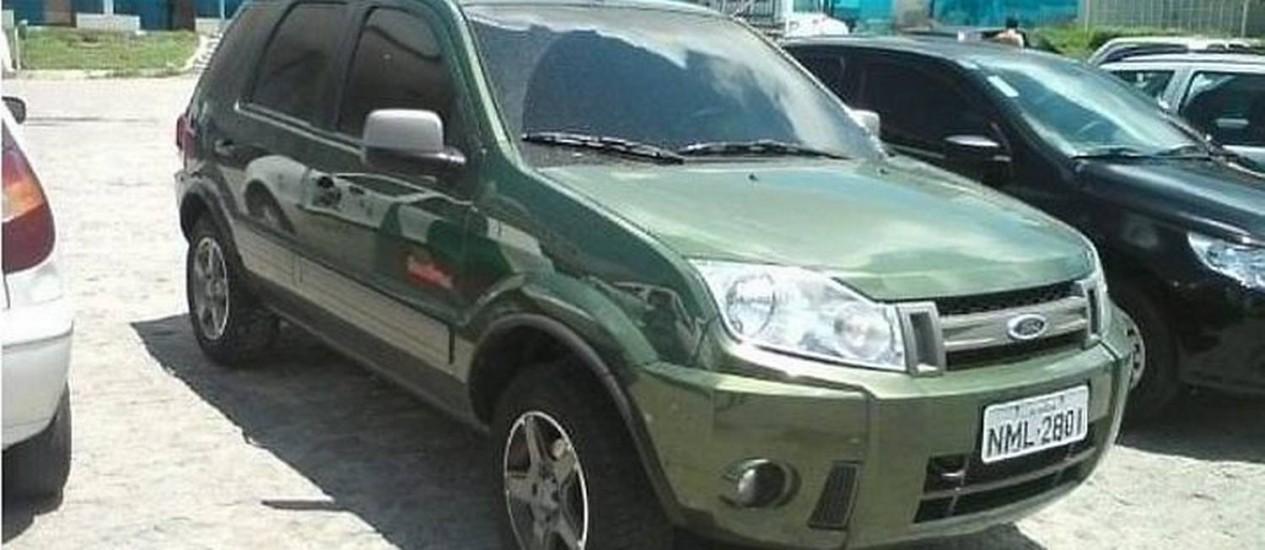 Ecosport roubada de casal de empresários em Maceió - ReproduçãoGazetaweb