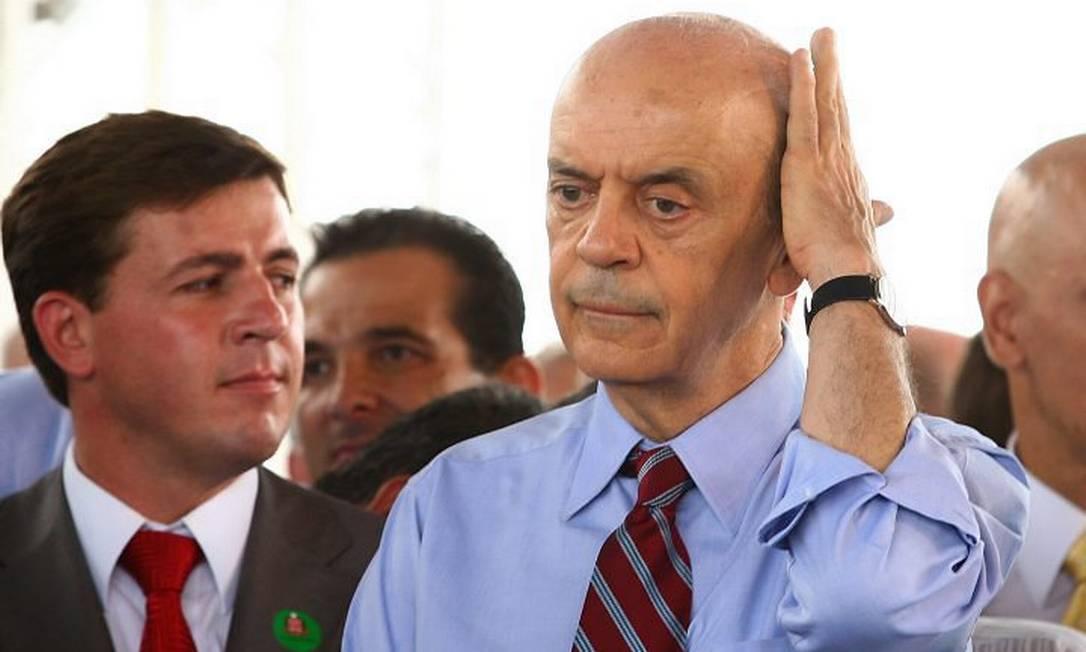 José Serra, candidato à Presidência pelo PSDB - Foto de Michel Filho
