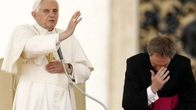 Papa Bento XVI no Vaticano AFP