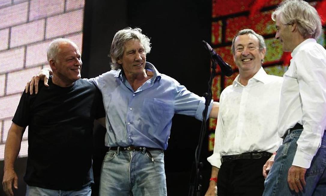 O grupo Pink Floyd em foto de 2005 AFP Foto:
