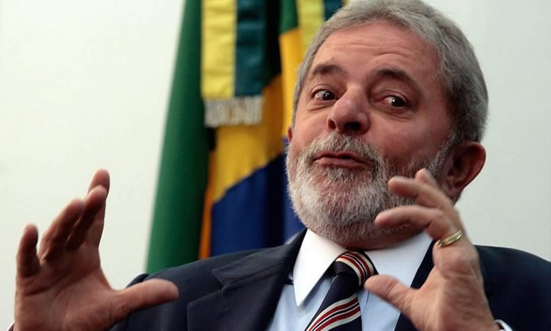 O presidente Luiz Inácio Lula da Silva em entrevista a AP - AP