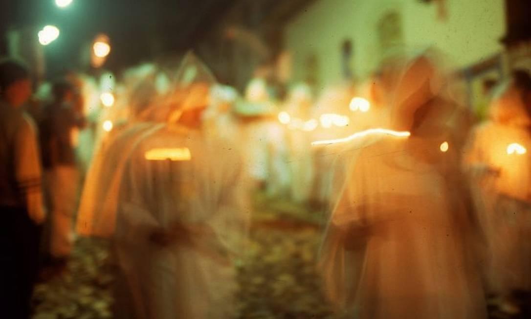 Semana Santa na cidade de Mariana, em Minas Gerais Foto: Bruno Agostini