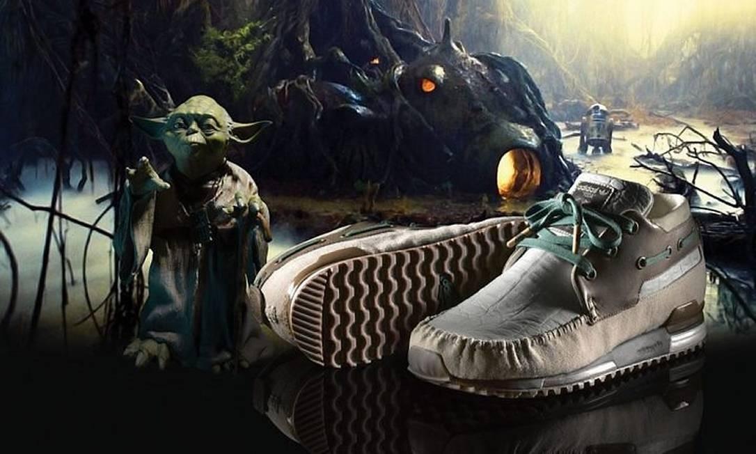 Adidas lança coleção baseada em 'Star wars' Reprodução