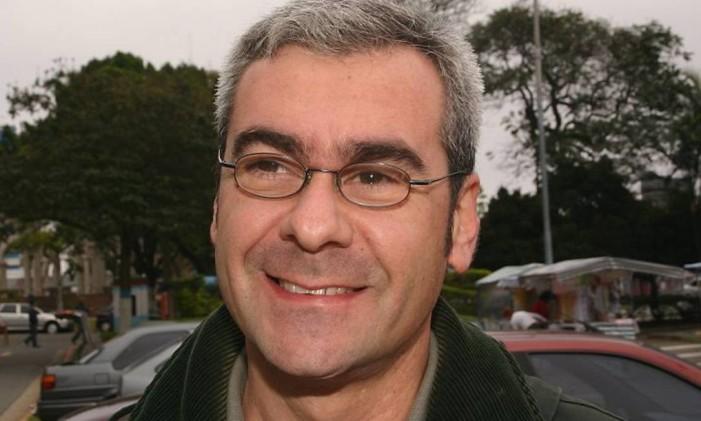 Hamilton Lacerda durante as eleições no Diretório do PT em São Caetano em 2006 - Divulgação Emilson Magalhães