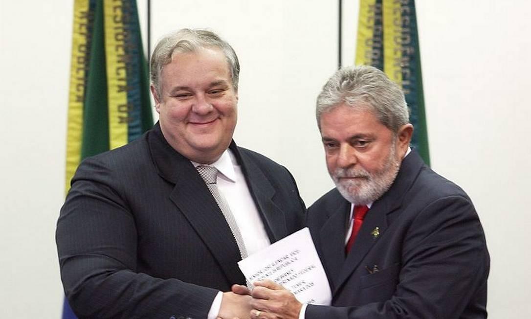 Lula ao lado do novo ministro da Justiça - Foto de Gustavo Miranda