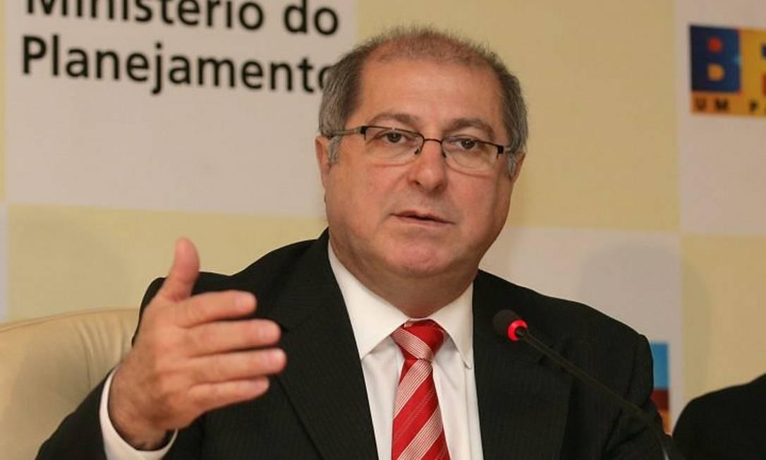 O ministro do Planejamento, Paulo Bernardo - Givaldo Barbosa Arquivo