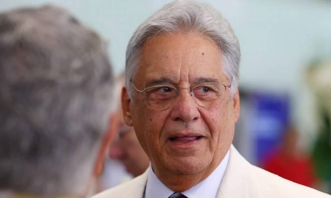O ex-presidente Fernando Henrique Cardoso disse que Dilma não inspira confiança - Michel Filho