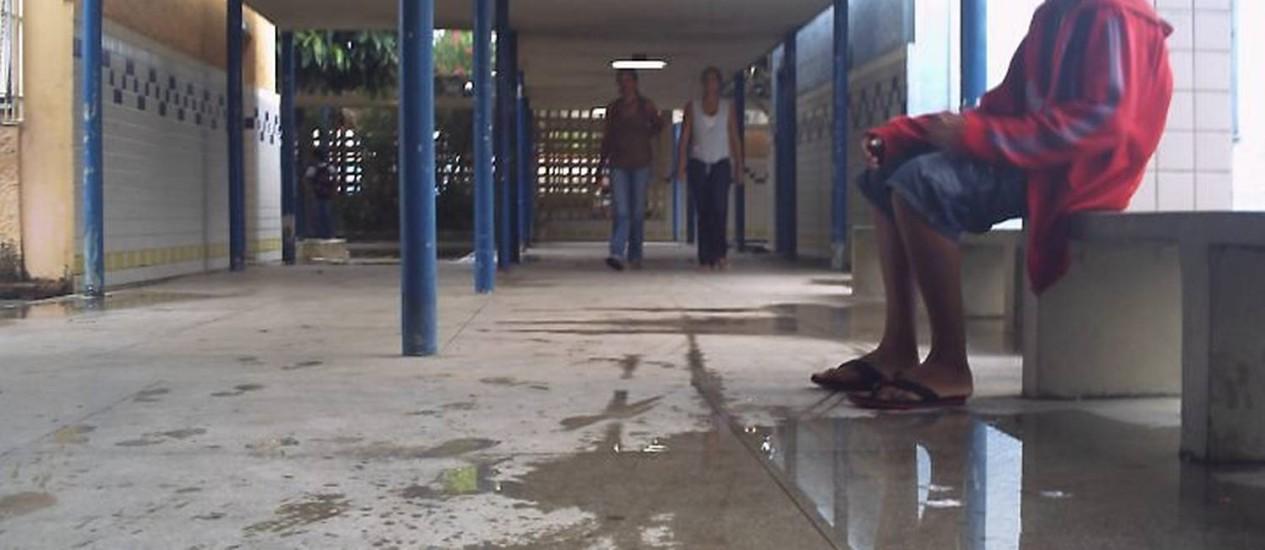 Escola onde alunos consomem crack em Maceió, Alagoas. Foto: Odilon Rios Lima