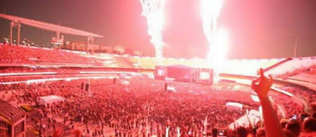 Show do Metallica em São Paulo - Divulgação Marcelo Rossi