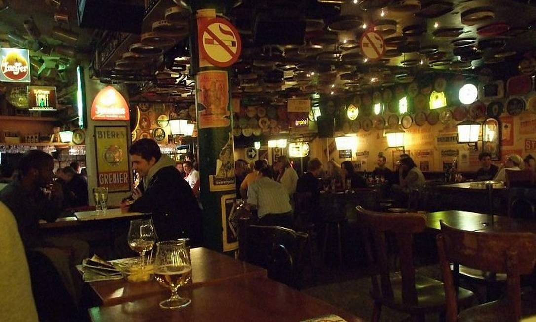 Délirium Café, bar que entrou no Guiness por oferecer o maior número de cervejas no cardápio Foto: Luisa Valle