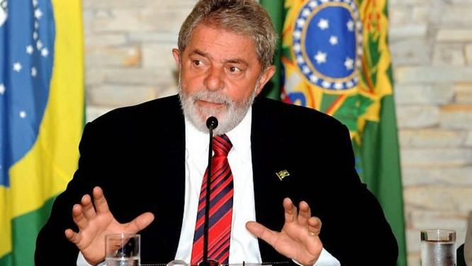 O presidente Lula durante reunião ministerial na Granja do Torto - Agência Brasil