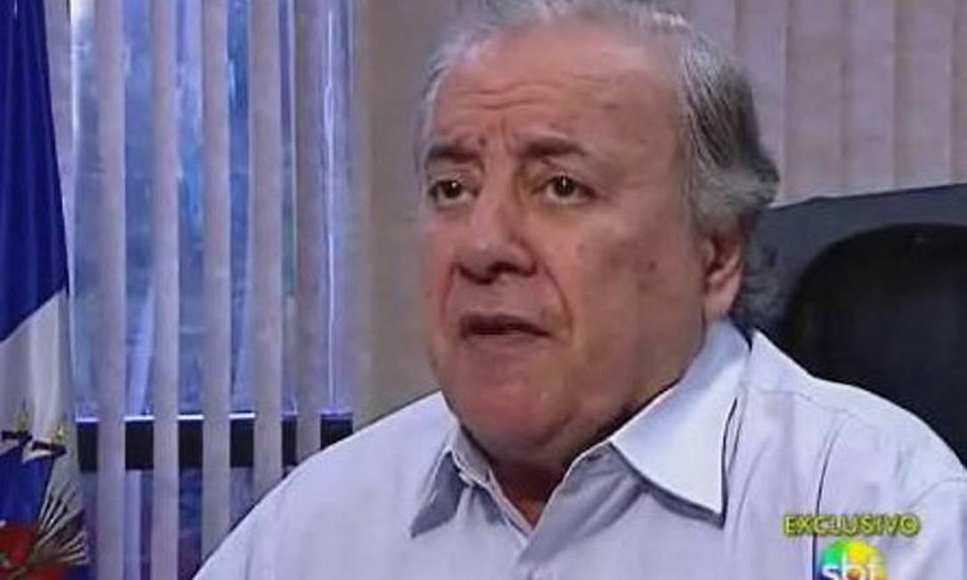 O cônsul geral do Haiti em São Paulo, George Samuel Antoine - Reprodução