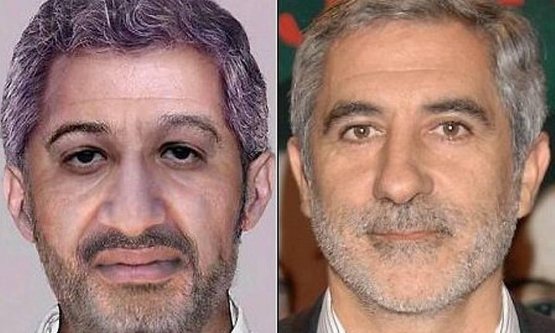 Montagem de Bin Laden usando foto de político espanhol Reprodução