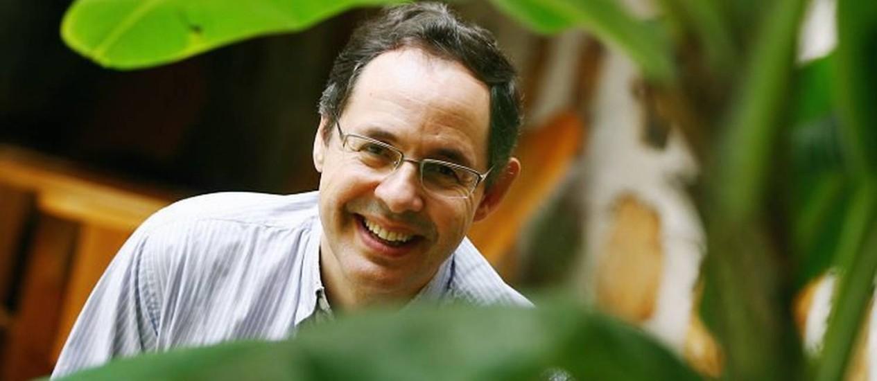 O economista Eduardo Giannetti Foto: Marcos Alves