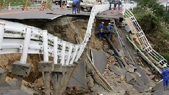 Imagem obtida através do Twitter mostra destruição no Haiti - Reprodução