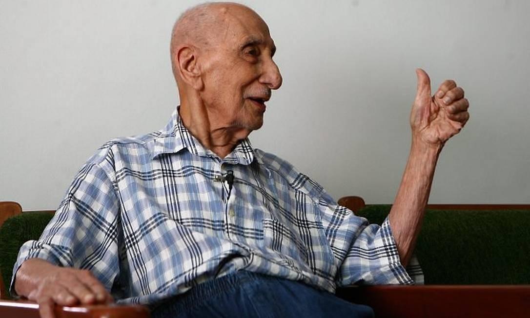 Antero de Almeida, aos 104 anos, é o único participante vivo da Intentona Comunista em 1935 - Marco Antonio Cavalcanti