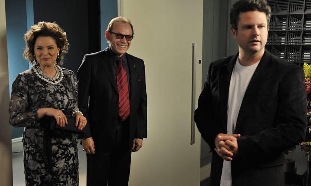 Louise Cardoso e José Wilker atuam ao lado de Selton Mello (TV GloboRenato Rocha Miranda)