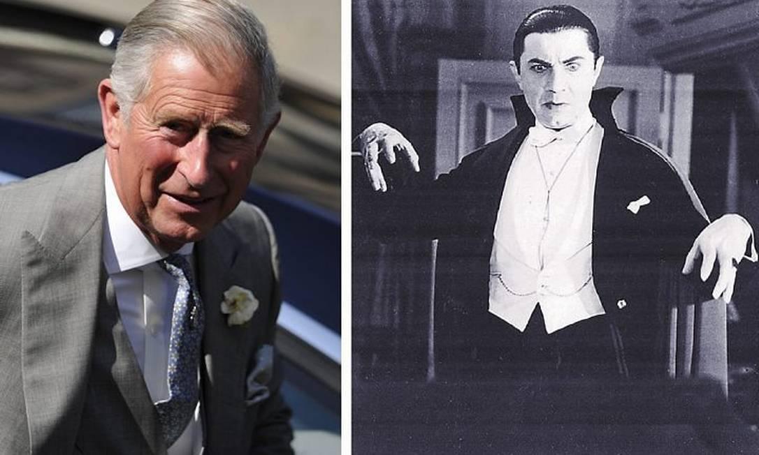 Primo da rainha: Charles diz ser parente de nobre que inspirou DráculaReprodução