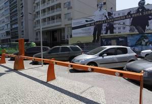 Estação no Flamengo ainda vazia nesta quinta-feira